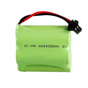 NiMH bateria kargagarria AA2400 6V