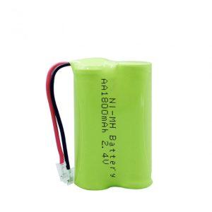 NiMH bateria kargagarria AA1800mAh 2.4V