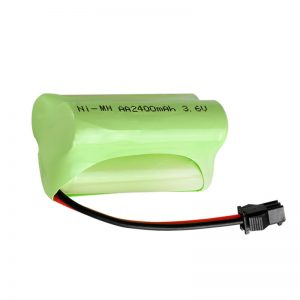 NiMH bateria kargagarria AA2400 3.6V