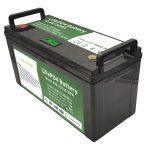 12V150Ah LiFePO4 bateria edukiera handikoa BMS adimendunarekin zoru garbigailu elektrikoarentzat
