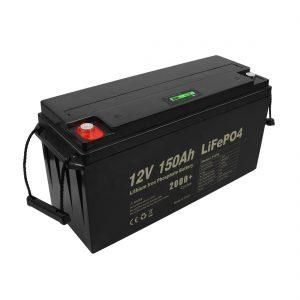 Ziklo sakoneko Lifepo4 bateria kargagarria 12v 150Ah 200Ah 250Ah 300Ah
