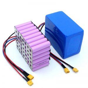 Fabrikako prezioa 18650 bateria-zelula potentzia handiko 12V Li Ion litiozko bateria kargagarria salgai