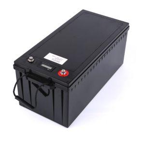 24V 100AH 12v 200ah lifepo4 bateria pertsonalizatua, itsasontzia eguzki energia biltegiratzeko