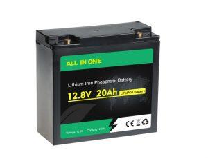Ziklo sakoneko kargagarria Lifepo4 12V 20AH litio ioi bateria OEM paketea