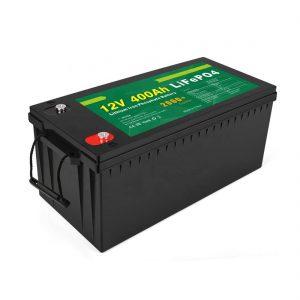 Fabrikako prezioa Ziklo sakoneko eguzki LFP bateria 12v 400Ah Eguzki LiFePO4 bateria