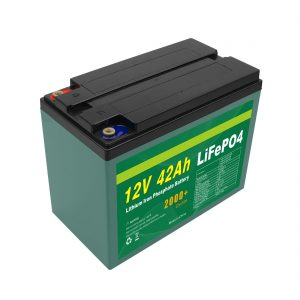 Mantentze pertsonalizatua Eguzki 12v 40ah 42ah Lifepo4 Cell Lifepo4 bateria BMSarekin