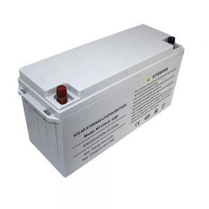 Energia Biltegiratzeko LiFePO4 Bateria 12V 80Ah Eguzki Bateriak Energia Horniduretarako