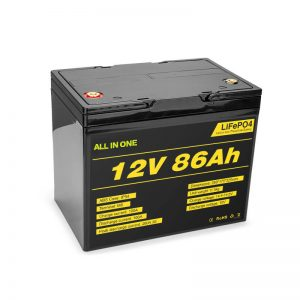 Lifepo4 12v 85ah Rechargeable Solar Lithium Ion Battery Pack Deep Cycle