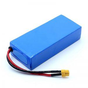 Kalitate handiko 12v 12Ah Li-ion bateria kargagarria 3S6P Litio ioi bateria paketeak
