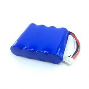 14.8V 2200 mAh kargagarria 18650 Li-ion litiozko bateria xurgagailu adimendunerako