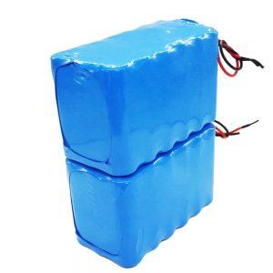 Salmenta beroa 18650 karga handiko ziklo sakoneko 24 volteko litio ioi bateria bizikleta elektrikoarentzat