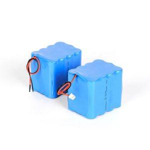 18650 litiozko bateria kargatu pertsonalizatua 18650 deskarga handiko 3s4p 12v li ioi bateria