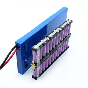 ALL IN ONE Wholesale 12S2P 18650 li ion Battery 44.4V 6Ah For Electric Skateboard