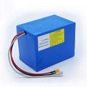 Litio Bateria 18650 48V 20.8AH bizikleta elektrikoetarako eta bizikleta kitetarako