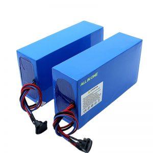 ALL IN ONE zelulak 13S7P 18650 48v 20.3ah bizikleta elektrikoaren bateria