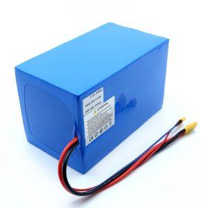 Litio Bateria 18650 48V 51.2AH 24v 30V 60V 15ah 20Ah 50Ah Li-ion Bateriak 18650 48V Litio ioizko Bateria Scooter elektrikorako