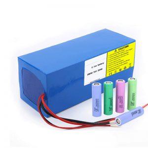 Lithium Battery 18650 72V 20Ah Auto-deskarga-tasa baxua 18650 72v 20ah litioko bateria paketea moto elektrikoetarako