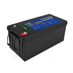 Ziklo sakoneko litio ioi bateria Lifepo4 24v 200ah eguzki biltegiratze bateria 3500+ ziklo li ion bateria pakete