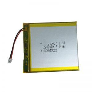 3,7 V 2200 mAh polimerozko litiozko bateriak etxeko gailu adimendunetarako