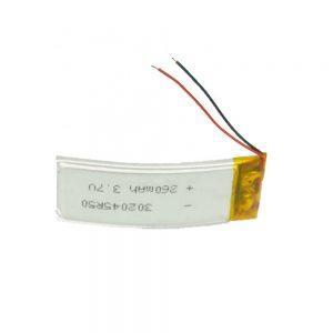 LiPO Bateria pertsonalizatua 302045 3.7V 260mAh