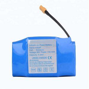 36v 4400mah 10s2p hoverboard litiozko bateria salduena