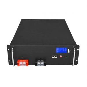 Eguzki Energia Biltegiratzeko Sistemetarako Energia Handiko Litio Ion Bateria 48V 50Ah LiFePO4