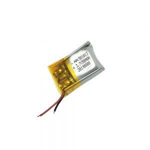 Kalitate handiko litio polimerozko bateria 3,7 V 50 mAh 581013 bateria