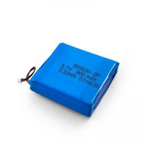 3.7V 450 530 550 700 750 750 800 900Mah Li-Po Lipo bateria kargagarria pertsonalizatuta