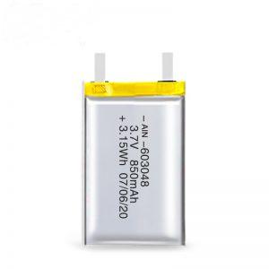 LiPO Bateria kargagarria 603048 3.7V 850mAh / 3.7V 1700mAH / 7.4V 850mAH
