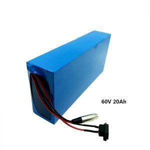 Neurriz kargatutako bateria 60v 20ah EV bateria litio
