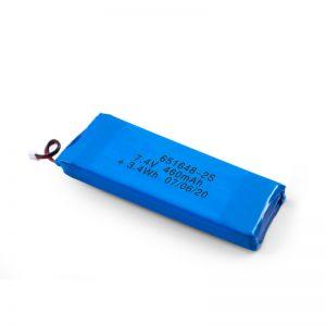 LiPO Bateria kargagarria 651648 3.7V 460mAh / 3.7V 920mAH / 7.4V 460mAH