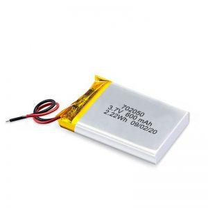 Txinako Handizkako 3.7V 600Mah 650Mah Li-Polimero Litiozko Bateria Bateria Bateragarriak