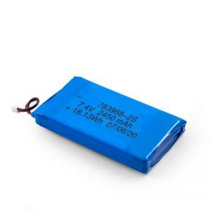 LiPO Bateria kargagarria 783968 3.7V 4900mAH / 7.4V 2450mAH / 3.7V 2450mAH /