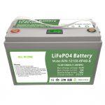 ALL IN ONE Ziklo sakona 12V100Ah LiFePO4 bateria BMS adimendunarekin, etxeko energia biltegiratzeko