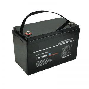 Tenperatura baxuko LiFePO4 12V 100AH