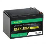 12V 12Ah paketearen ordezko LiFePO4 bateria berun azidoa