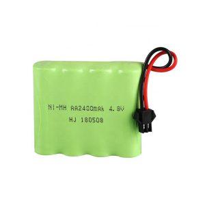NiMH bateria kargagarria AA2400mAH 4.8V