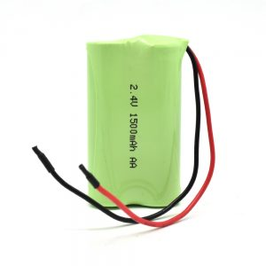 NiMH bateria kargagarria AA1500mAh 2.4V