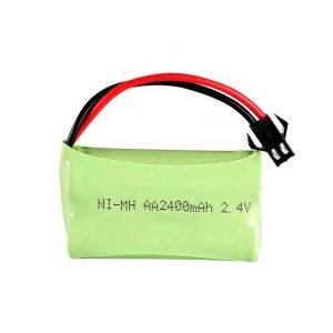 NiMH bateria kargagarria AA2400mAH 2.4V