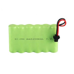 NiMH bateria kargagarria AA 2400mAh 7.2V
