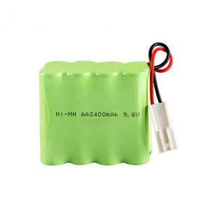 NiMH bateria kargagarria AA2400 9.6V