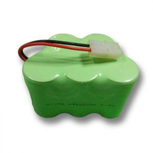 NiMH Bateria kargagarria D9000mAH 6V