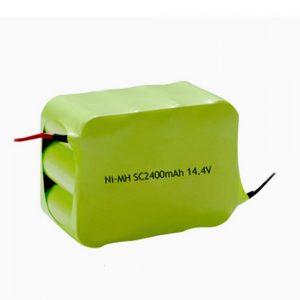 NiMH bateria kargagarria SC 2400mAH 14.4V