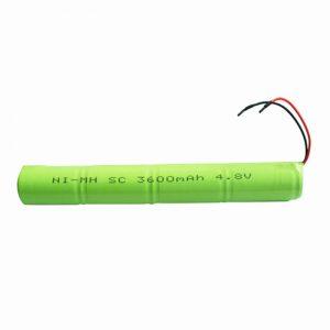 NiMH Bateria kargagarria SC 3600mAH 4.8V