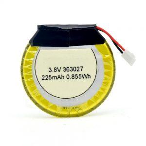 LiPO pertsonalizatutako bateria 363027 3.7V 225mAH
