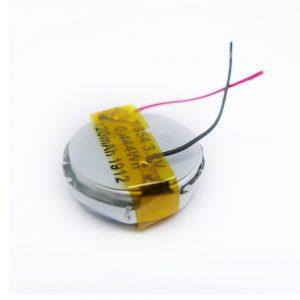 LiPO pertsonalizatutako bateria 1654 3.7V 120mAh
