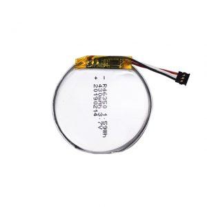 LiPO pertsonalizatutako bateria 46350 3,7 V 350 mah erloju adimendun bateria 46350 litro biribil txikia litio polimeroen bateria jostailuentzako