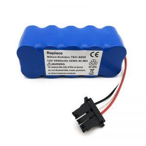 12V ni-mh bateria TEC-5500, TEC-5521, TEC-5531, TEC-7621, TEC-7631 xurgagailurako